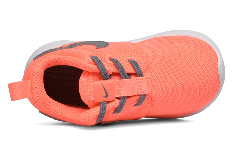 Sneakers Nike Nike Roshe One (Tdv) Arancione immagine sinistra
