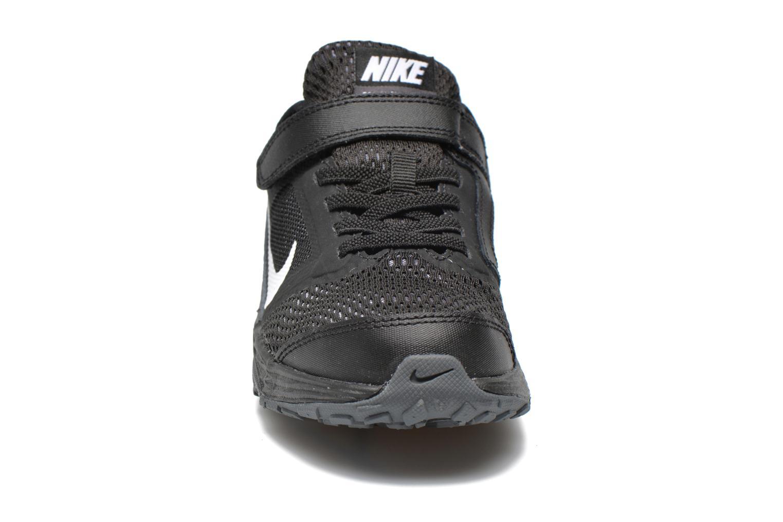 Baskets Nike Nike Tri Fusion Run (Psv) Noir vue portées chaussures
