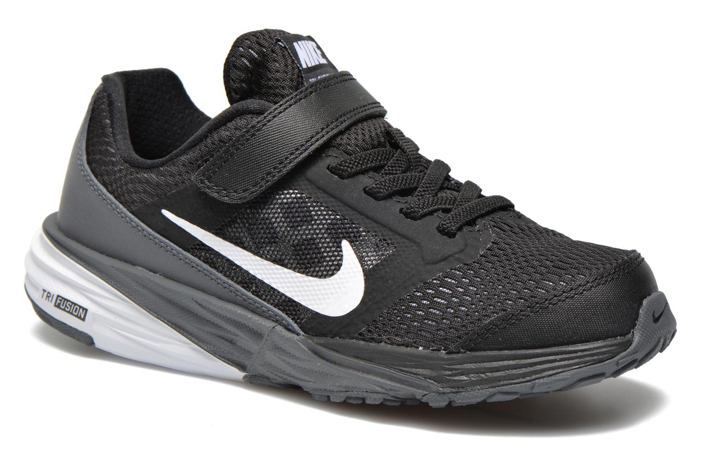 Baskets Nike Nike Tri Fusion Run (Psv) Noir vue détail/paire