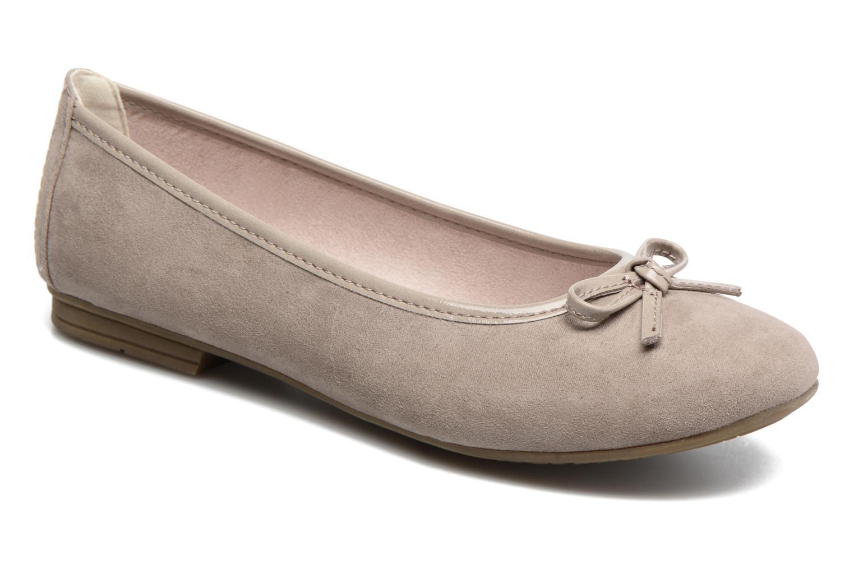 Ballerines Jana shoes Aciego Marron vue détail/paire