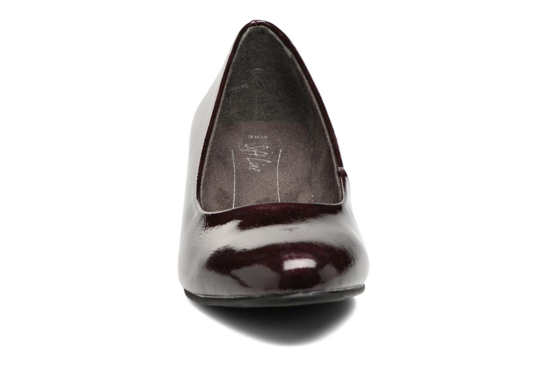 Escarpins Jana shoes Zudiri Bordeaux vue portées chaussures
