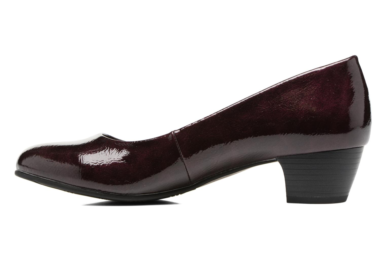 Escarpins Jana shoes Zudiri Bordeaux vue face
