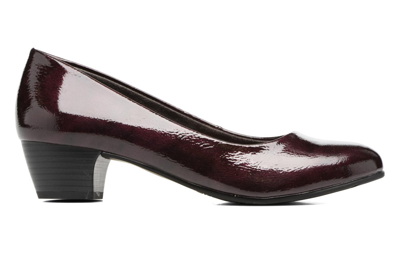 Escarpins Jana shoes Zudiri Bordeaux vue derrière