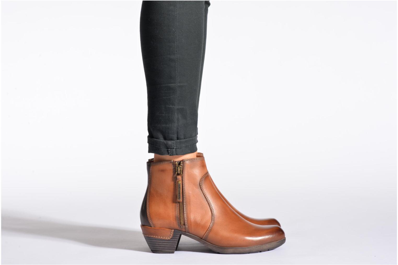 Bottines et boots Pikolinos ROTTERDAM 902-8552 Marron vue bas / vue portée sac