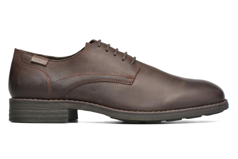 Chaussures à lacets Pikolinos PAMPLONA 03Q-4031 Marron vue derrière