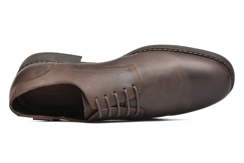 Chaussures à lacets Pikolinos PAMPLONA 03Q-4031 Marron vue gauche