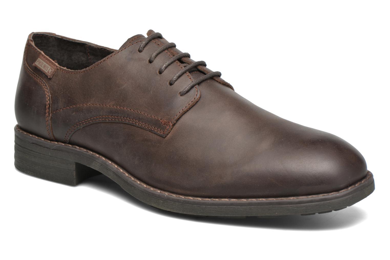 Chaussures à lacets Pikolinos PAMPLONA 03Q-4031 Marron vue détail/paire