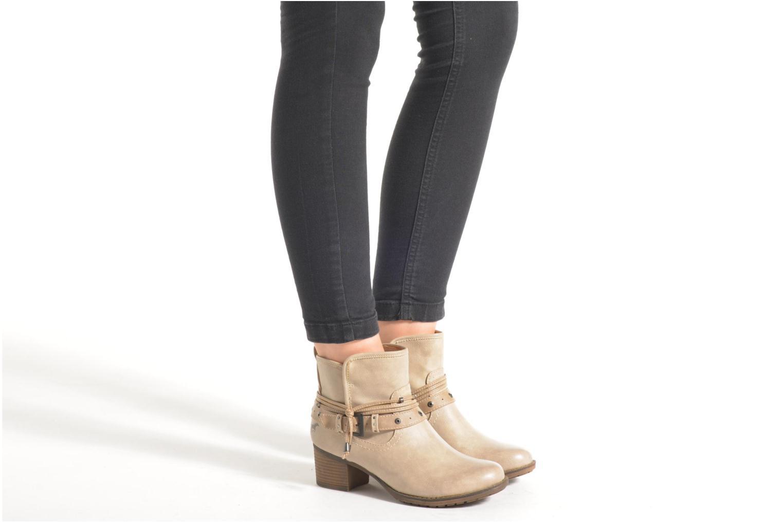 Stiefeletten & Boots Mustang shoes Hillun beige ansicht von unten / tasche getragen