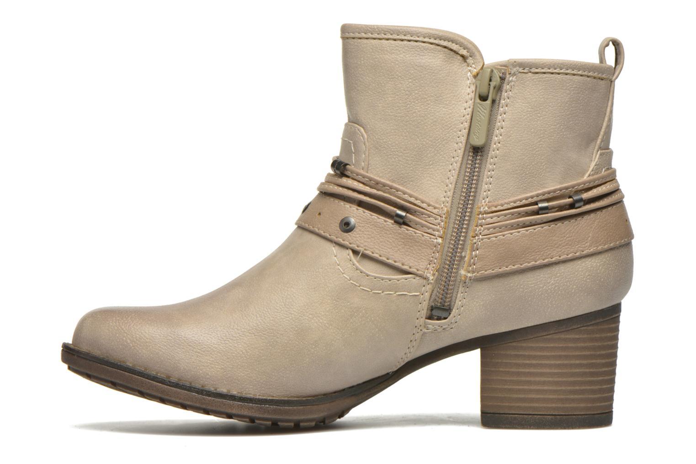 Stiefeletten & Boots Mustang shoes Hillun beige ansicht von vorne