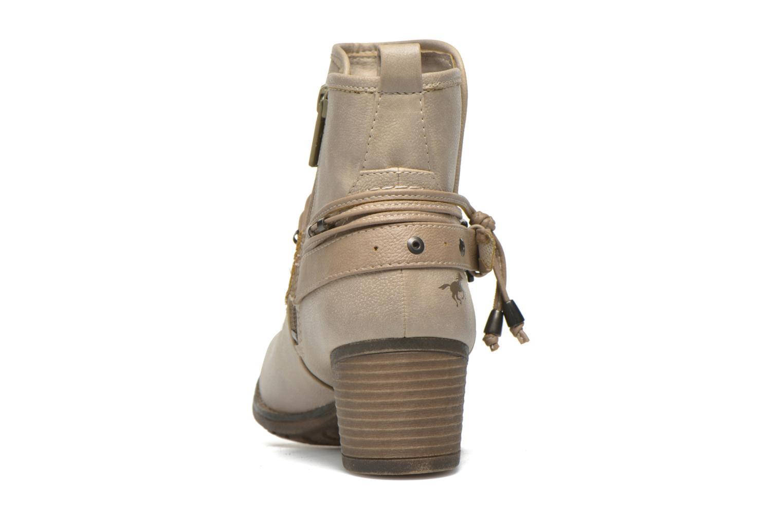Stiefeletten & Boots Mustang shoes Hillun beige ansicht von rechts