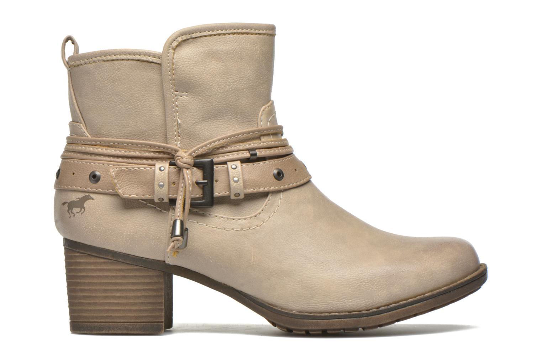 Stiefeletten & Boots Mustang shoes Hillun beige ansicht von hinten