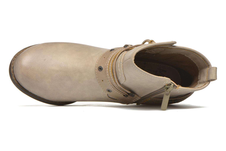 Stiefeletten & Boots Mustang shoes Hillun beige ansicht von links