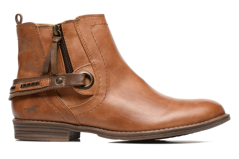 Bottines et boots Mustang shoes Isauris Marron vue derrière