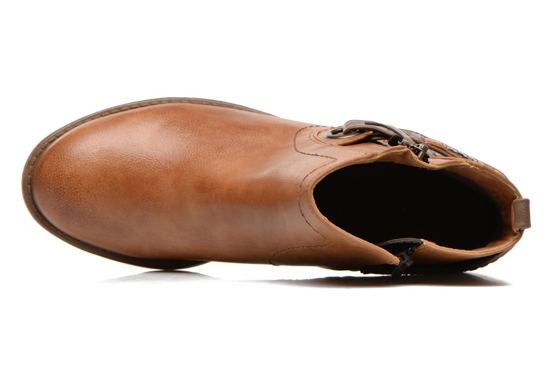 Bottines et boots Mustang shoes Isauris Marron vue gauche