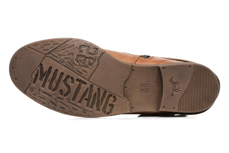 Bottines et boots Mustang shoes Isauris Marron vue haut