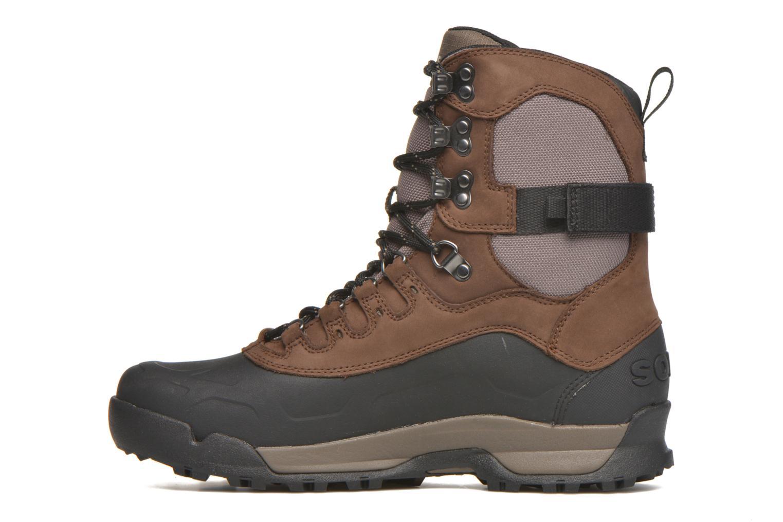Bottines et boots Sorel Sorel Paxson Tall Waterproof Bordeaux vue face