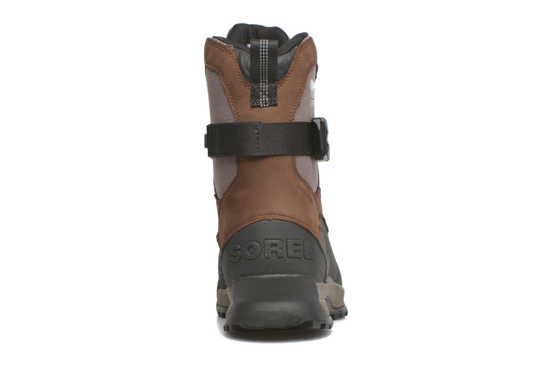 Bottines et boots Sorel Sorel Paxson Tall Waterproof Bordeaux vue droite