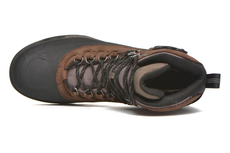 Bottines et boots Sorel Sorel Paxson Tall Waterproof Bordeaux vue gauche
