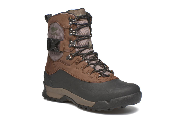 Bottines et boots Sorel Sorel Paxson Tall Waterproof Bordeaux vue détail/paire
