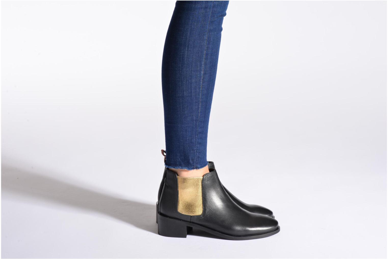Bottines et boots Pepe jeans Angie Special Bordeaux vue bas / vue portée sac