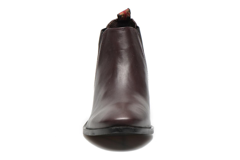 Bottines et boots Pepe jeans Angie Special Bordeaux vue portées chaussures
