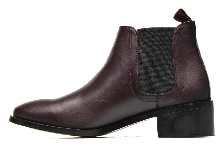 Bottines et boots Pepe jeans Angie Special Bordeaux vue face
