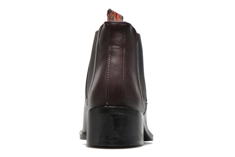 Bottines et boots Pepe jeans Angie Special Bordeaux vue droite