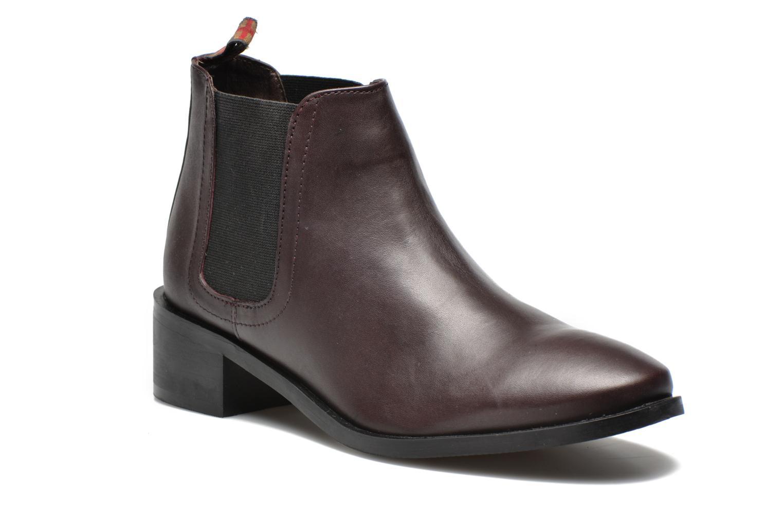 Bottines et boots Pepe jeans Angie Special Bordeaux vue détail/paire