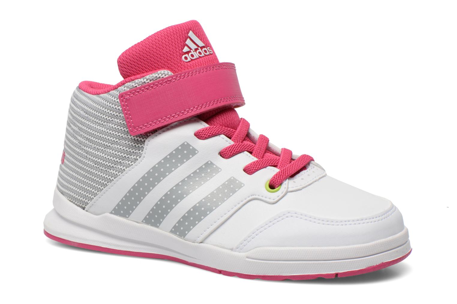 Baskets Adidas Performance Jan BS 2 mid C Blanc vue détail/paire