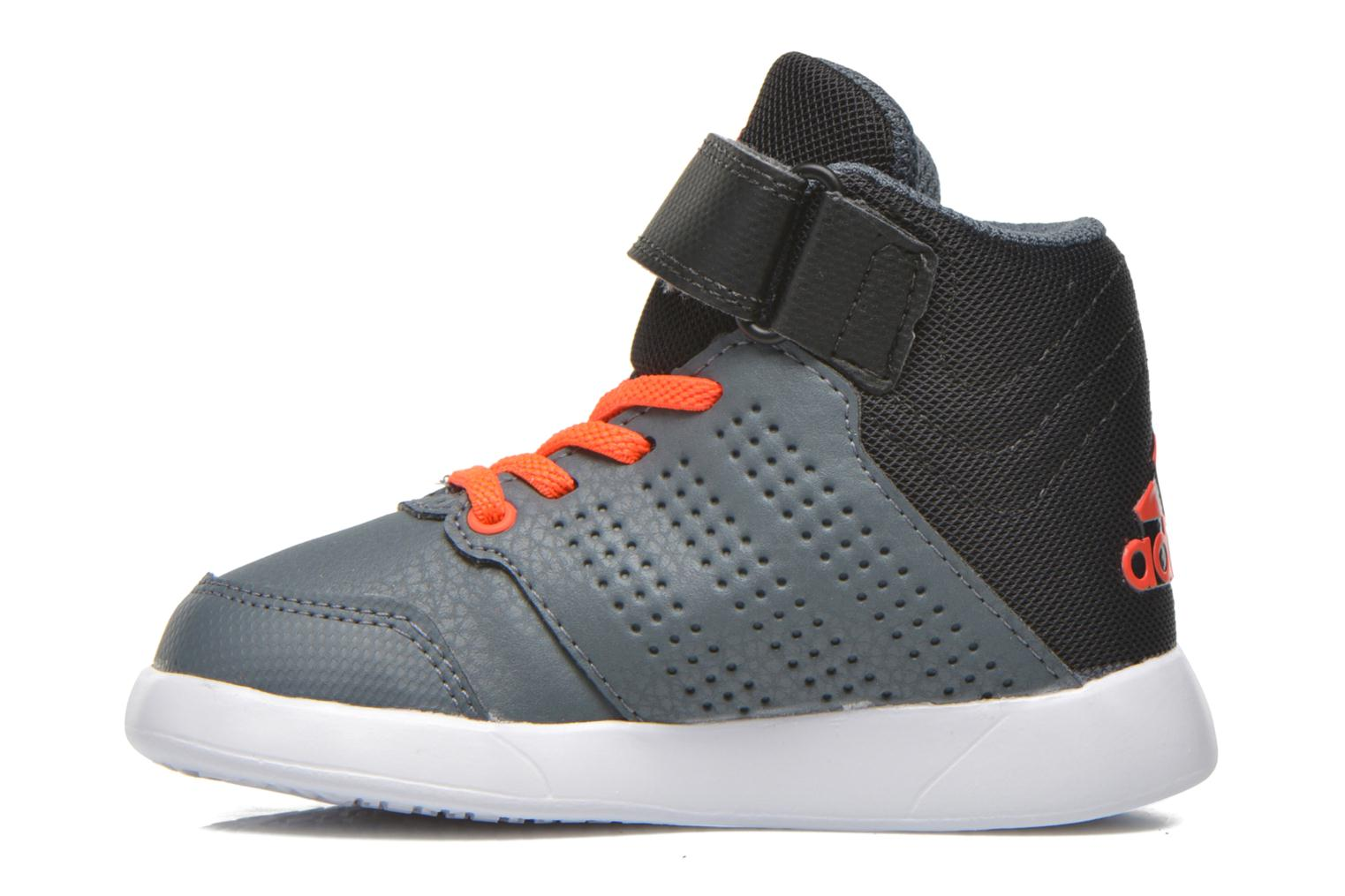 Baskets Adidas Performance Jan BS 2 mid I Gris vue face