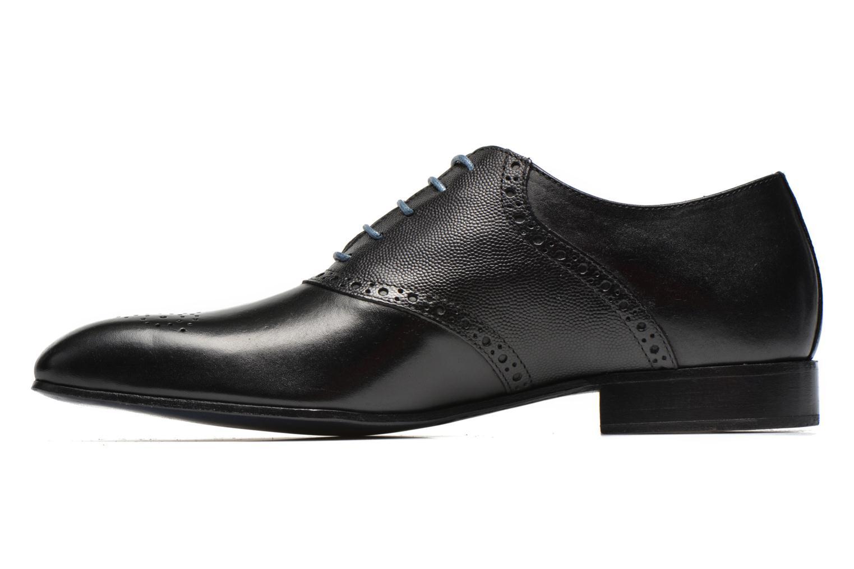 Zapatos con cordones Marvin&Co Nagolfy Negro vista de frente