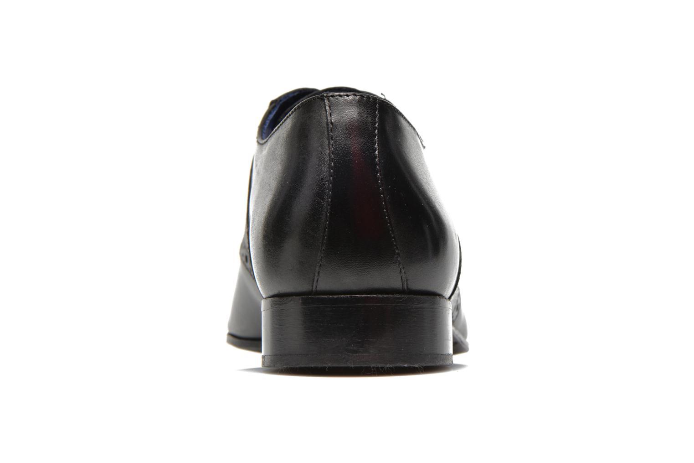 Zapatos con cordones Marvin&Co Nagolfy Negro vista lateral derecha