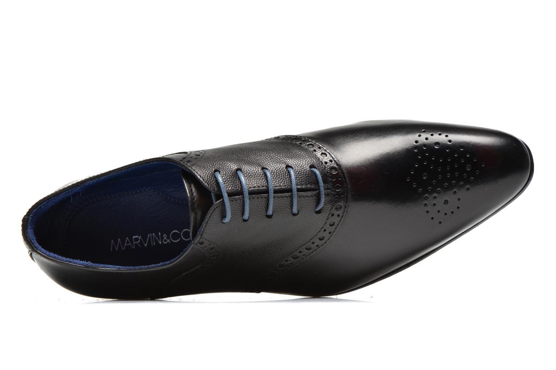 Zapatos con cordones Marvin&Co Nagolfy Negro vista lateral izquierda