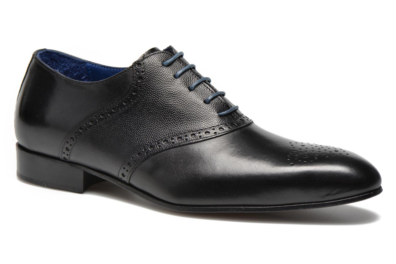 Zapatos con cordones Marvin&Co Nagolfy Negro vista de detalle / par