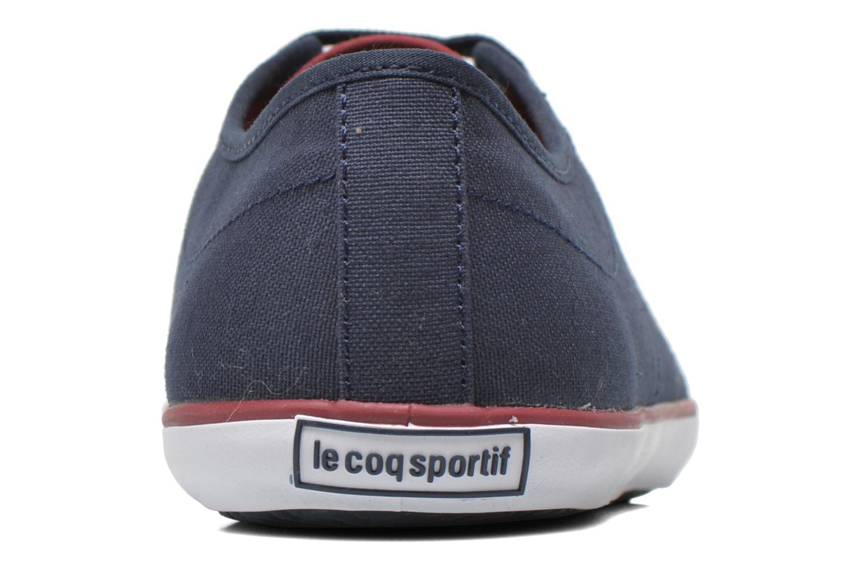 Baskets Le Coq Sportif Slimset CVS Bleu vue droite