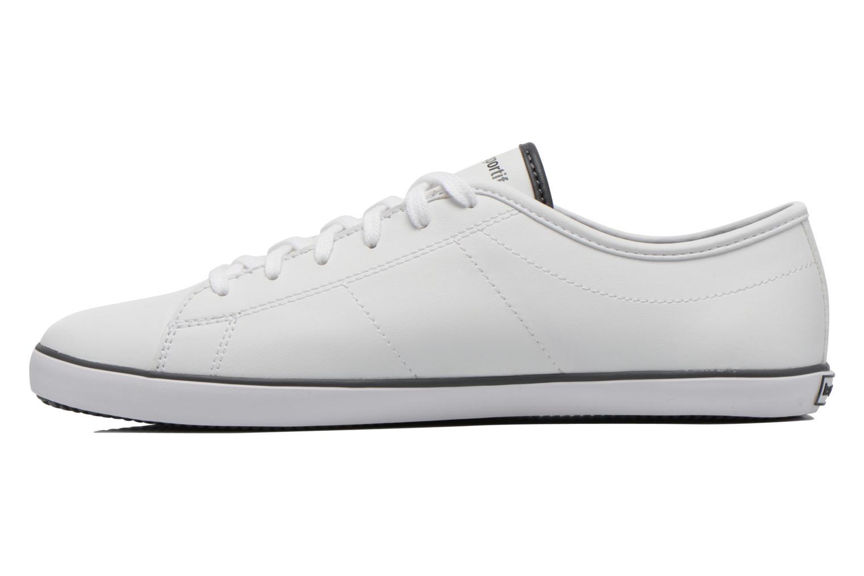 Sneaker Le Coq Sportif Slimset Syn Lea weiß ansicht von vorne