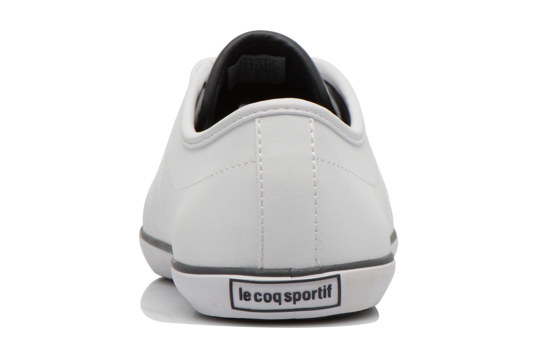 Baskets Le Coq Sportif Slimset Syn Lea Blanc vue droite