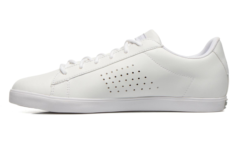 Sneaker Le Coq Sportif Agate Lo Syn Lea weiß ansicht von vorne