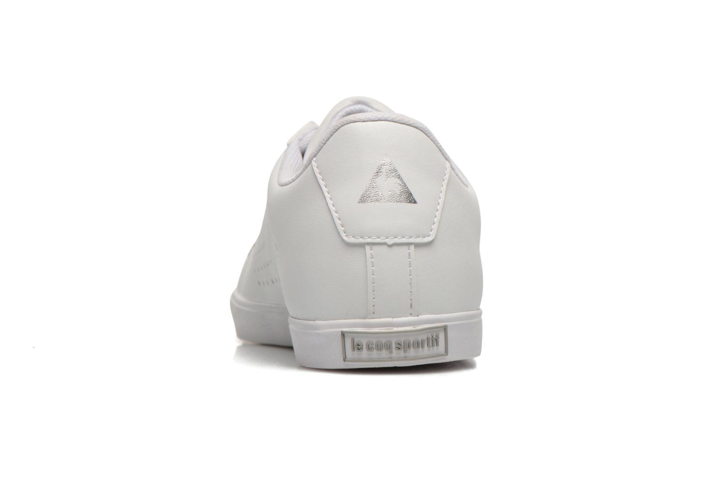 Sneakers Le Coq Sportif Agate Lo Syn Lea Wit rechts
