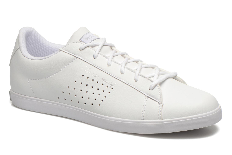 Sneaker Le Coq Sportif Agate Lo Syn Lea weiß detaillierte ansicht/modell