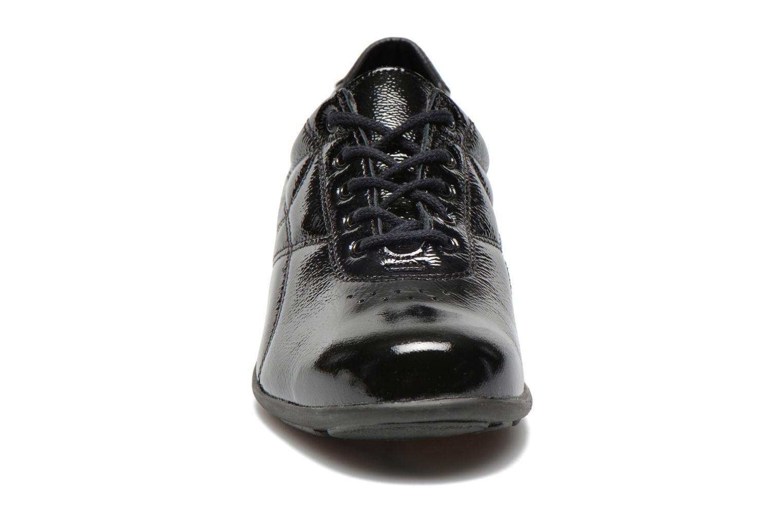 Baskets UMO Confort Decibel Noir vue portées chaussures