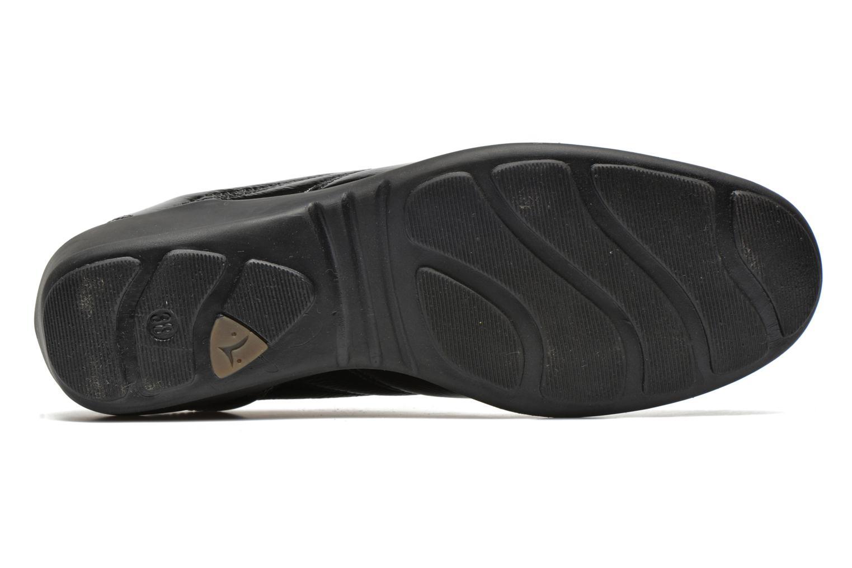 Baskets UMO Confort Decibel Noir vue haut