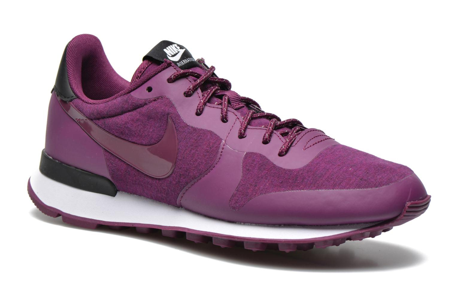 W Nike Internationalist Tp Mulberry/Mulberry-Black-White