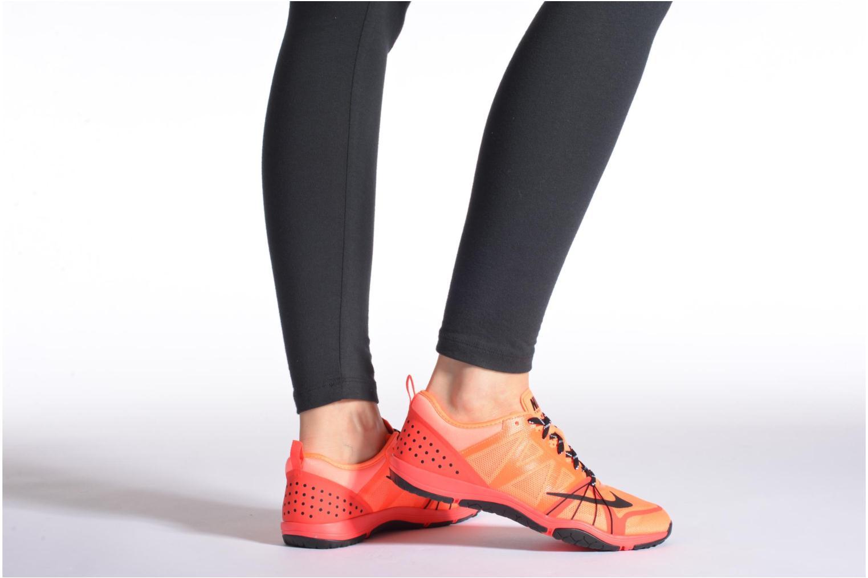 Chaussures de sport Nike Wmns Nike Free Cross Compete Orange vue bas / vue portée sac