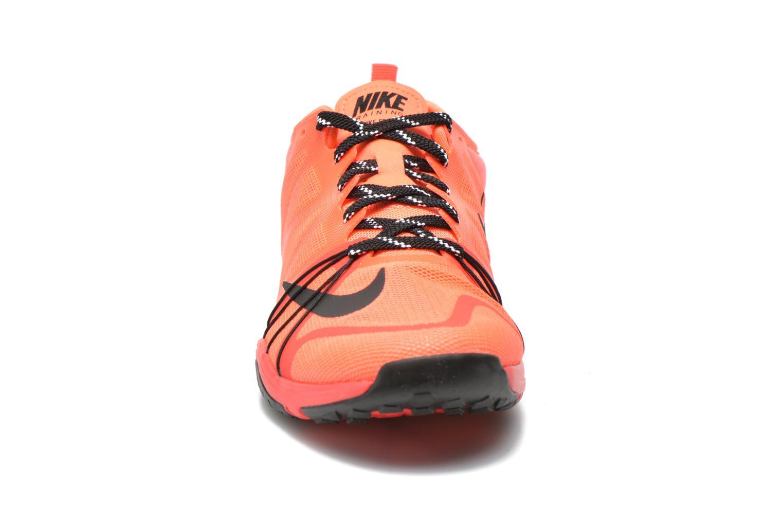Chaussures de sport Nike Wmns Nike Free Cross Compete Orange vue portées chaussures