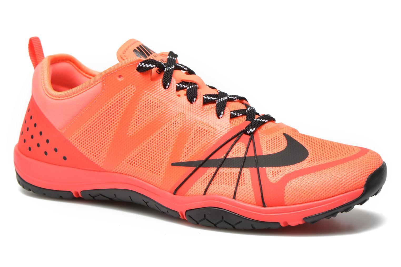 Chaussures de sport Nike Wmns Nike Free Cross Compete Orange vue détail/paire