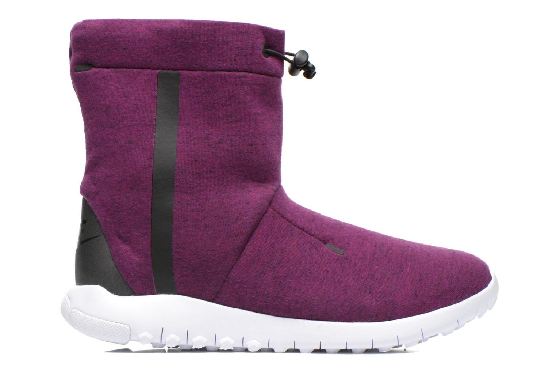 Bottines et boots Nike Wmns Nike Tech Fleece Mid Bordeaux vue derrière