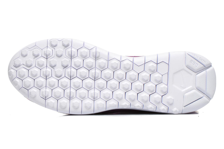 Botines  Nike Wmns Nike Tech Fleece Mid Vino vista de arriba