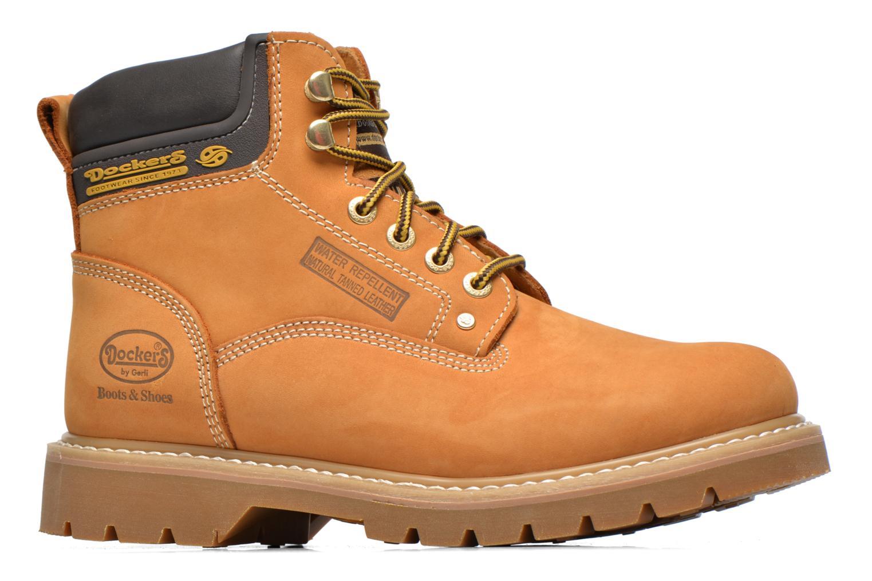 Boots en enkellaarsjes Dockers Ugo Beige achterkant