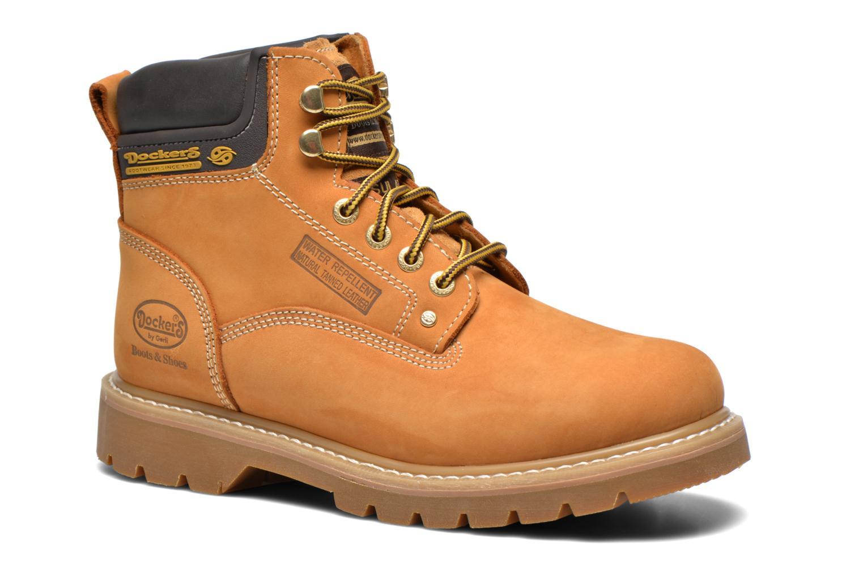 Bottines et boots Dockers Ugo Beige vue détail/paire